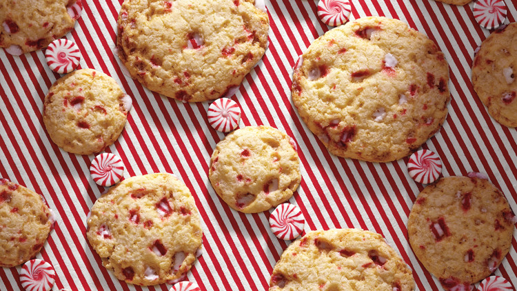 Peppermint-Candy Sugar Cookies