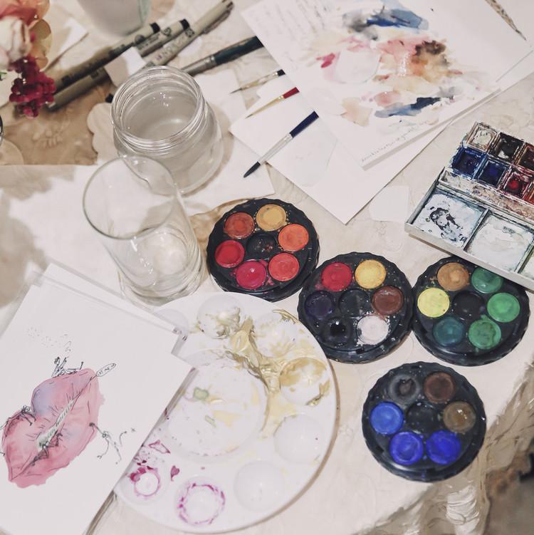nutcracker party paints