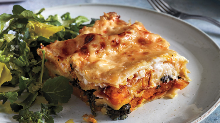 Squash Lasagna with Spinach | Martha Stewart
