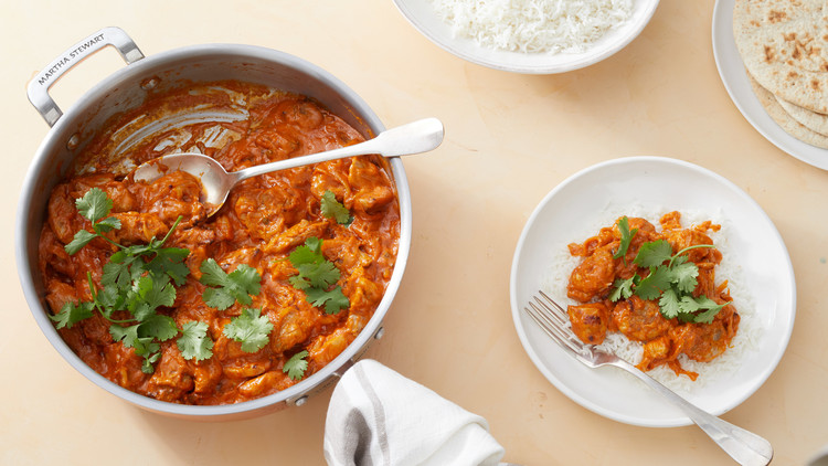 Butter Chicken Recipe Martha Stewart