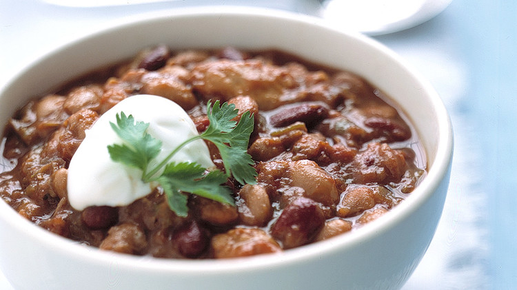 chili with chicken and beans