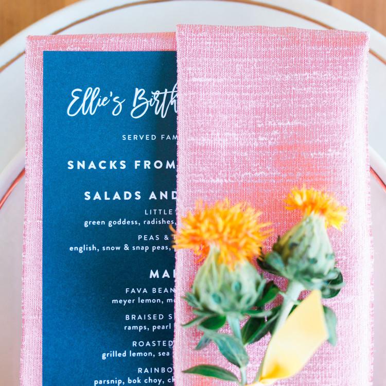 menu-card-on-pink-napkin-floral