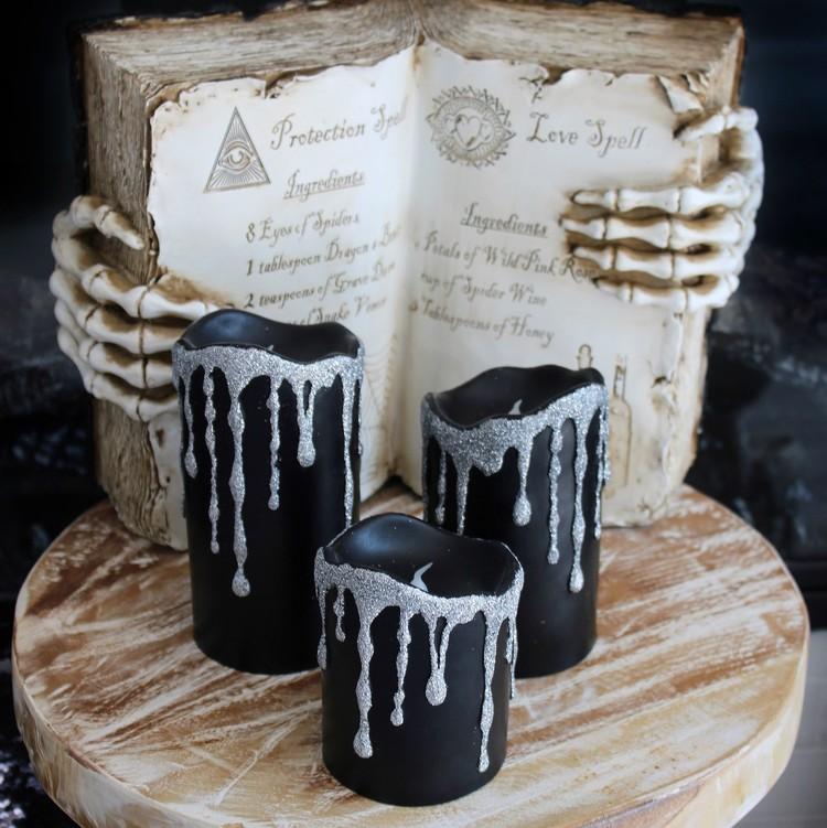 glam-halloween-glitter-candles