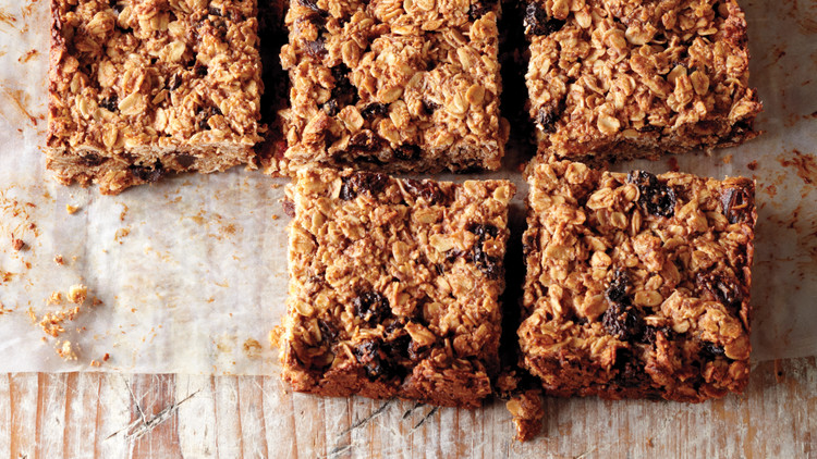 Cherry Date Oat Bars