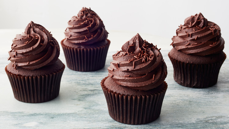 chocolate cupcakes using real chocolate