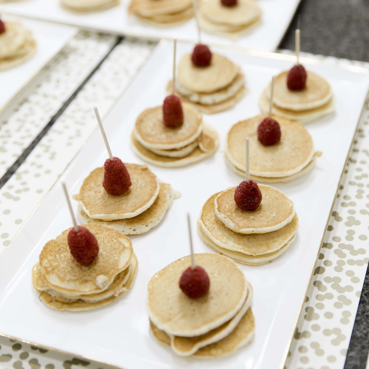 mini-pancakes-with-raspberries