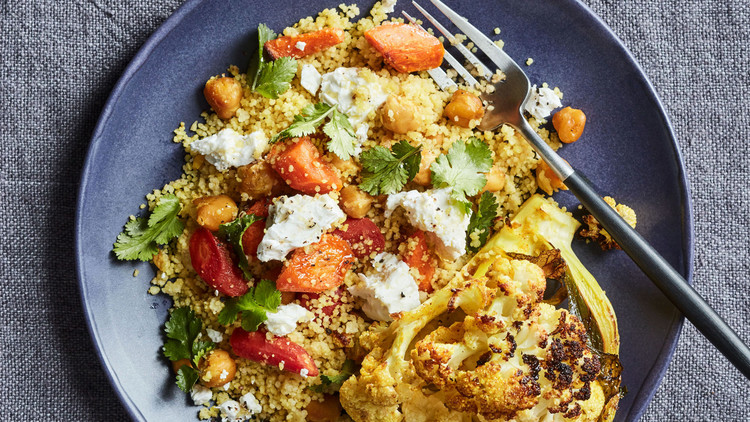 Roasted-Vegetable Couscous Bowl
