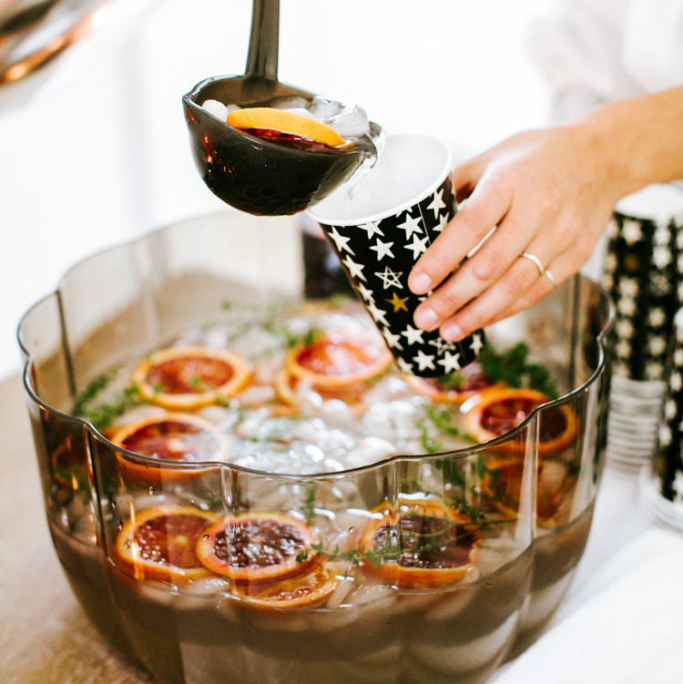 camille styles halloween party punch bowl