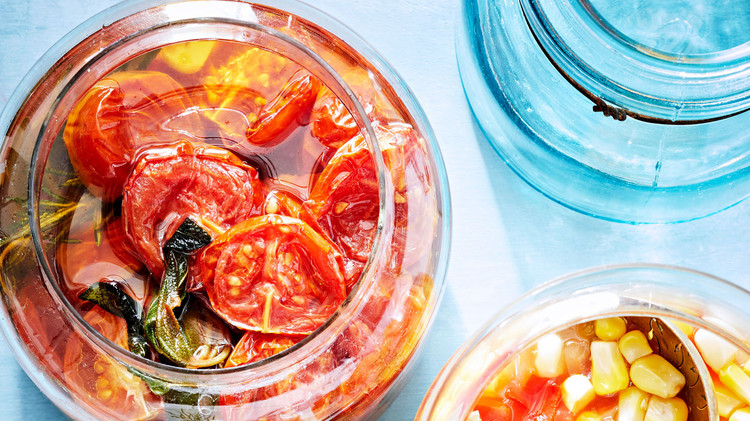tomato and herb conserve