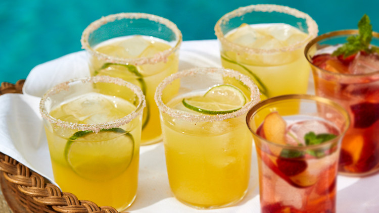 Yellow Watermelon Margaritas | Martha Stewart
