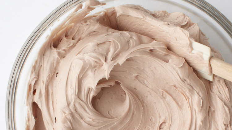 simple chocolate buttercream