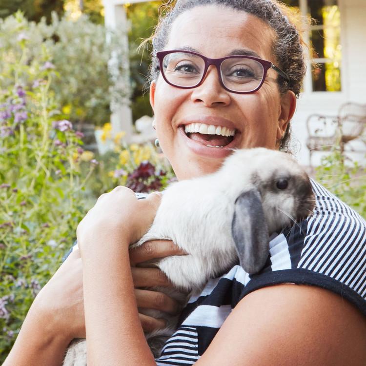 bennett holding bunny