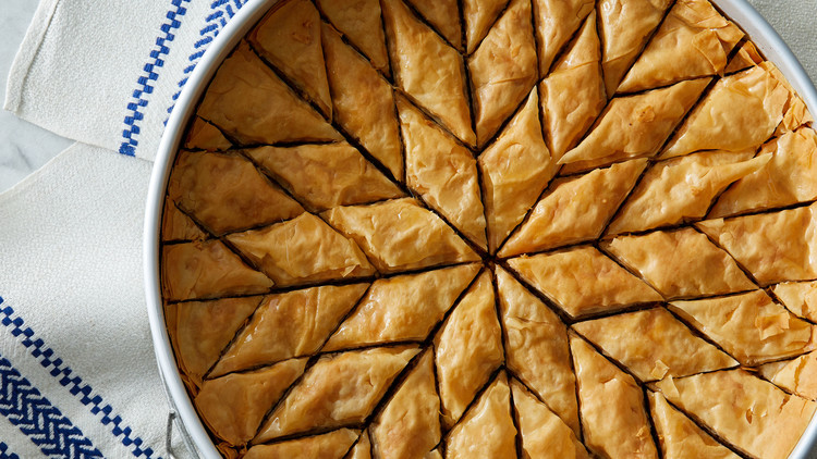 Walnut And Honey Baklava Recipe Martha Stewart
