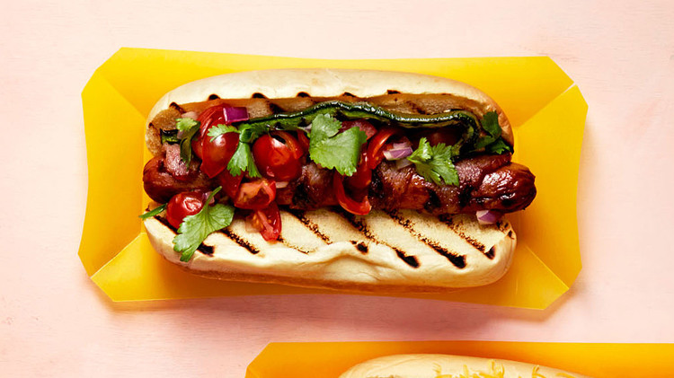 california bacon wrapped dogs