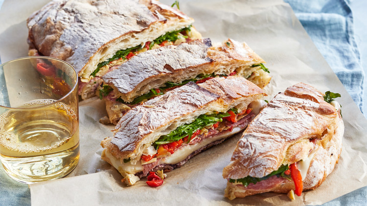 Easy Italian Grilled Sandwiches Martha Stewart