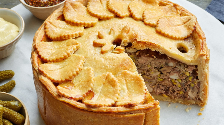 Meat Pie with Hot-Water Crust