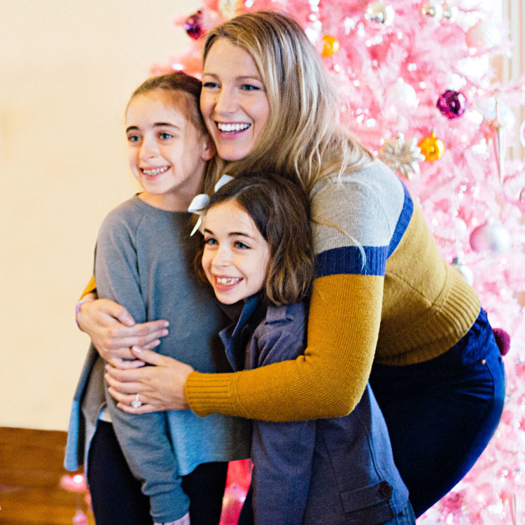 blake lively with kids