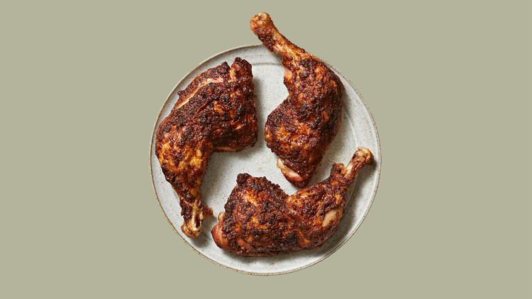 Roasted Cinnamon-Rubbed Chicken image