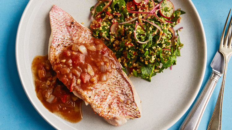fish with tamarind sauce