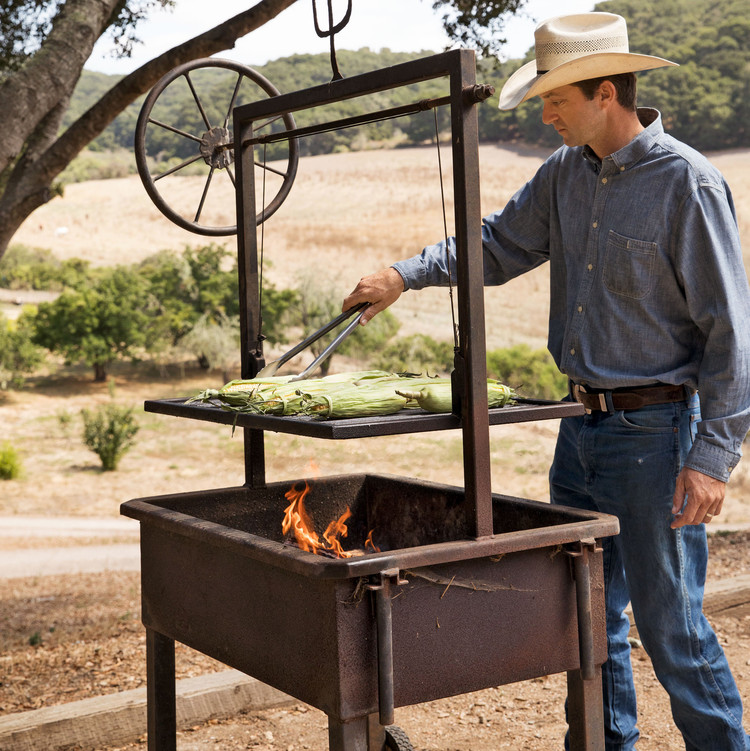 austin campbell wood fired grill ranch life
