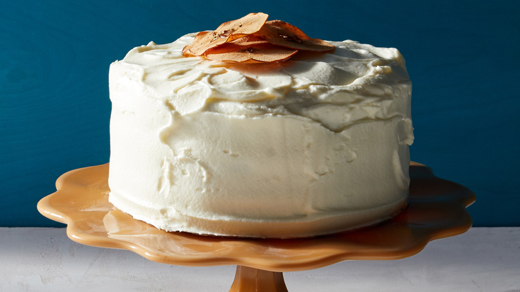 Apple Layer Cake with Cream-Cheese Frosting