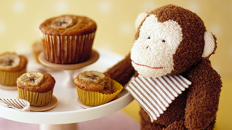 muffins monkey stuffed annimal