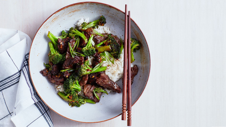 Beef and Broccoli with Black-Bean Garlic Sauce recipe