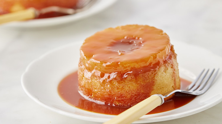 Pineapple upside down cake with rum recipe