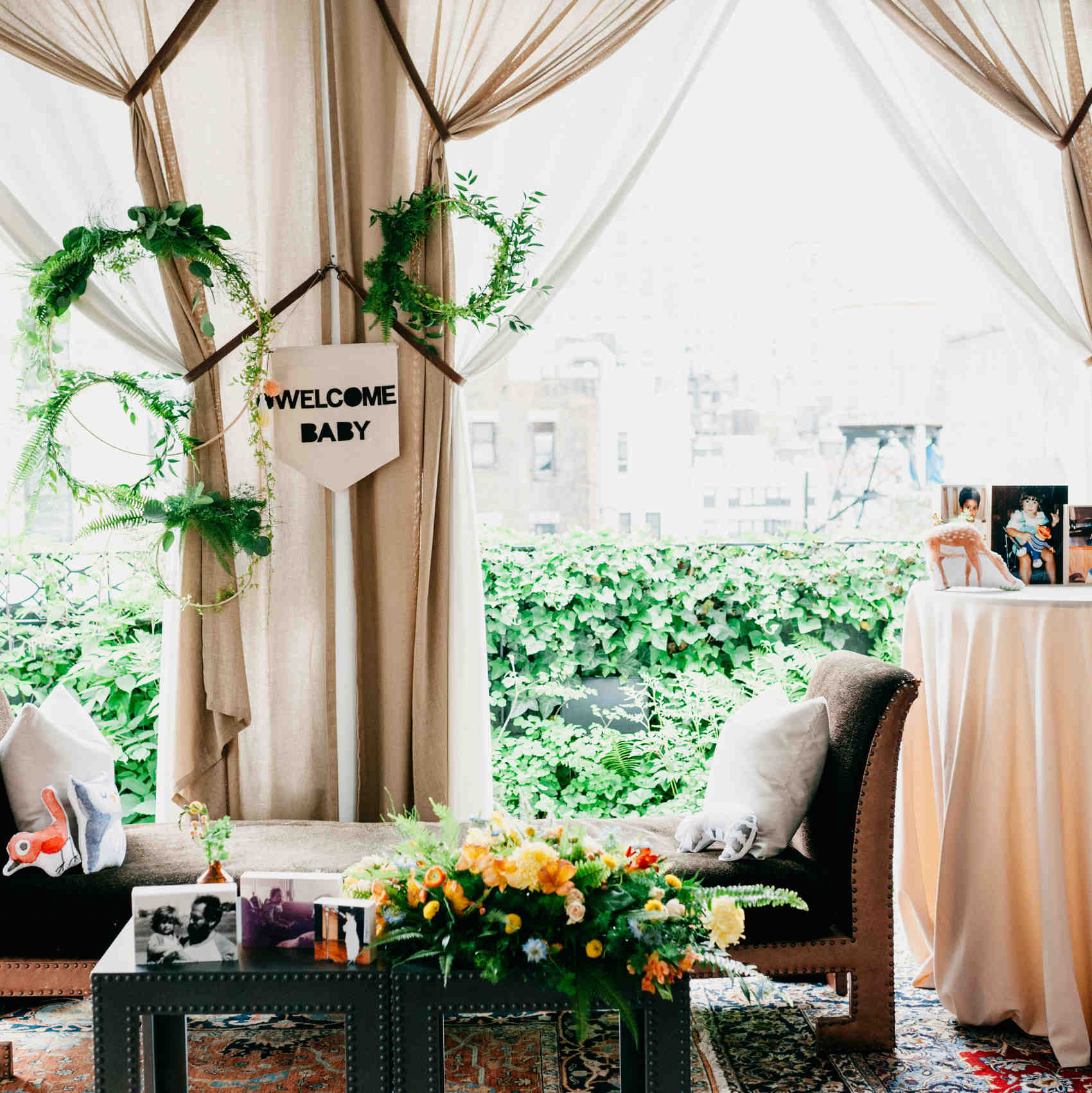 A Woodland Baby Shower With Ideas From Designer Michelle Edgemont