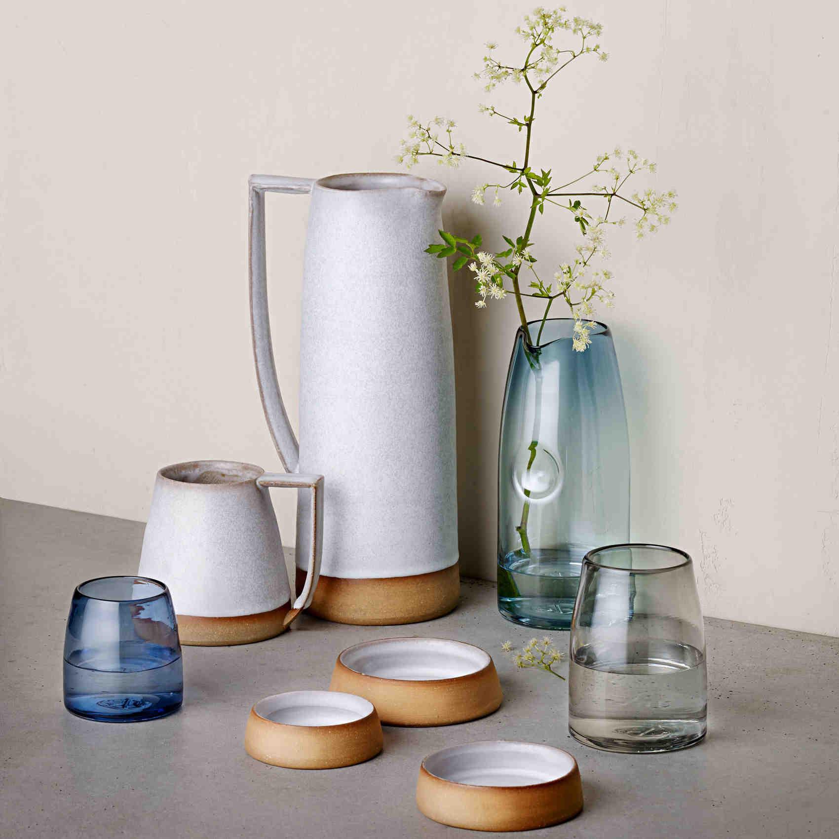 erin reitz pottery glassware
