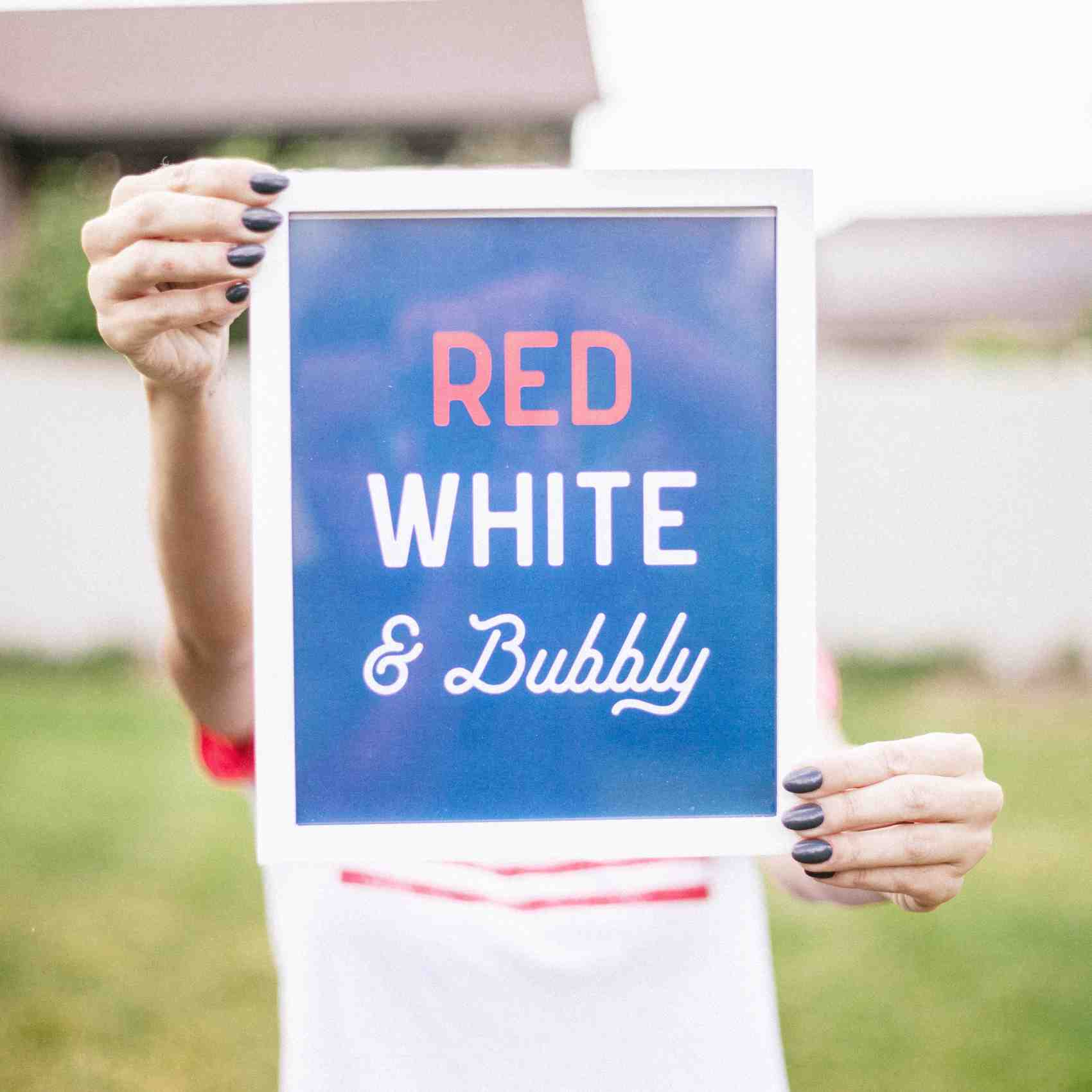 It's the Fourth of July! Break Out the Red, White, and Bubbly