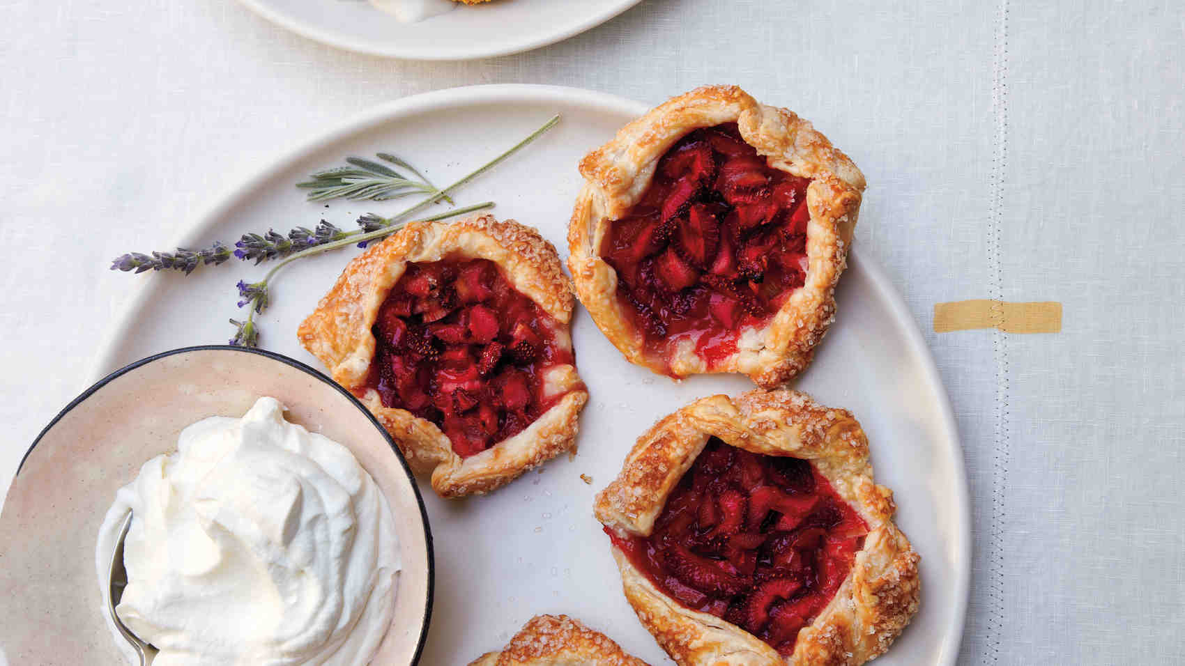Mini Strawberry-Rhubarb Galettes, Anyone?
